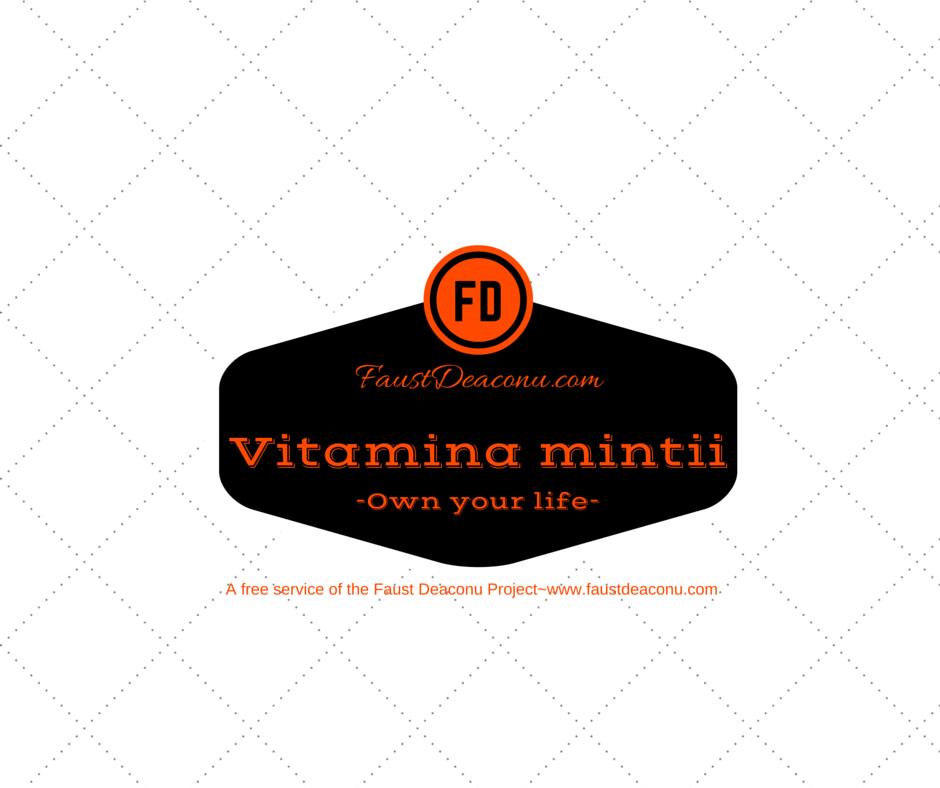 Vitamina minții